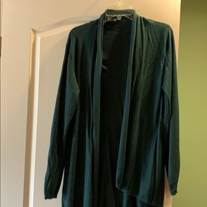 Green cardigan size large